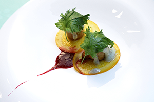 A dish from Pierre Gagnaire