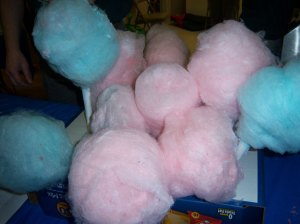 Mmmmm, cotton candy!