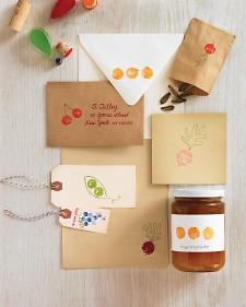 Martha Stewart Kids Cork Stamping Project