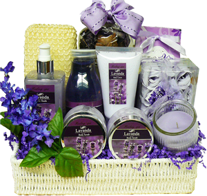 Blissfully Relaxing Lavender Gift Basket from Art of Appreciation