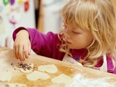 Valentines Day Kid Cookies