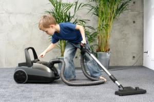 Boy with Vacuum
