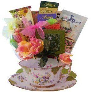 Tea Time Teacup Gift Basket from Art of Appreciation