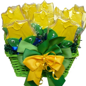 Tulip Cookie Bouquet Gift Basket from Art of Appreciation