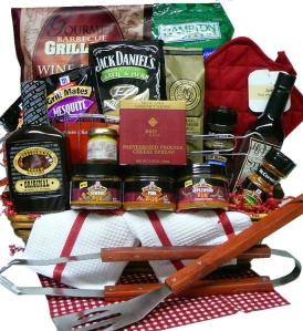 Grilling Creations Spice It Up Right gift basket from Art of Appreciation
